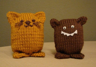 Free Knit Amigurumi Patterns : Simple Knit Amigurumi